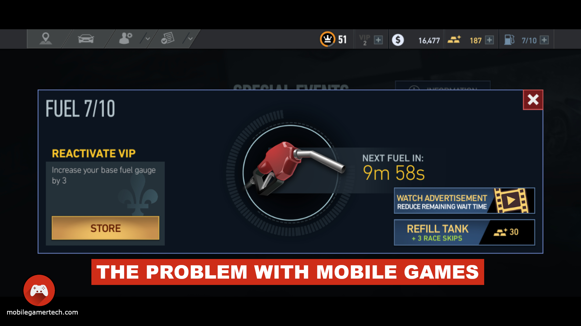 The Problem With Mobile Games